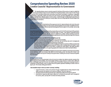 Comprehensive Spending Review 2020 Document cover