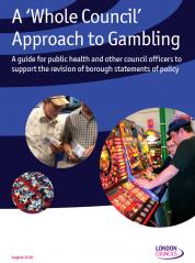 Gambling and Public Health report cover
