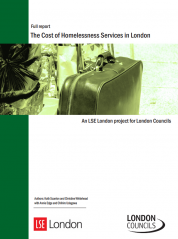 The Cost of Homelessness Services in London - document cover